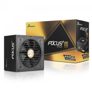 Seasonic FOCUS Plus 650W 120mm Hybrid Silent Control Fan 80 PLUS Gold Fully Modular PSU