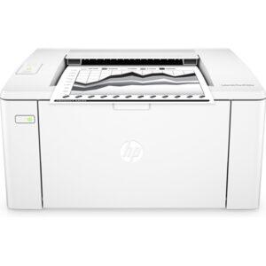 HP M102w LaserJet Pro Printer, Mono, Wireless, Laser Print Technology, 22ppm B/W, Max Resolution 1200dpi, A4